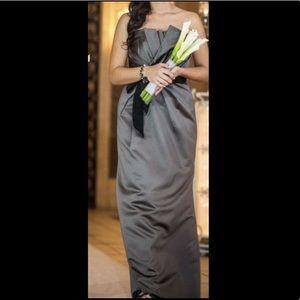 Charcoal Bridesmaid's Dress - Vera Wang